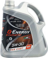 Масло G-Energy Synthetic Far East 5w30 4л