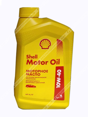 Масло моторное Shell Motor Oil 10W40 (1л)